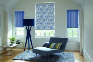 Смотрим рулонные шторы в интерьере комнат
