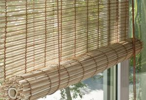Прозрачное бамбуковое рулонное полотно