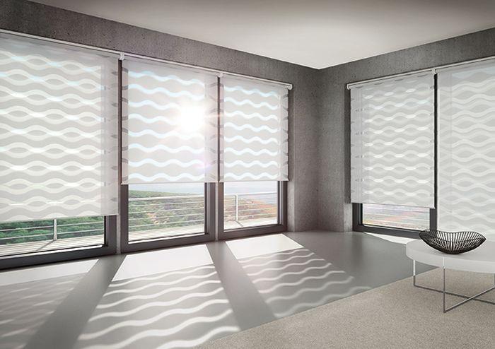 Выбираем полупрозрачные рулонные шторы