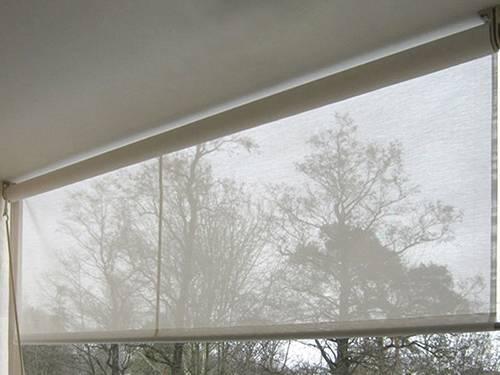 рулонные шторы прозрачные