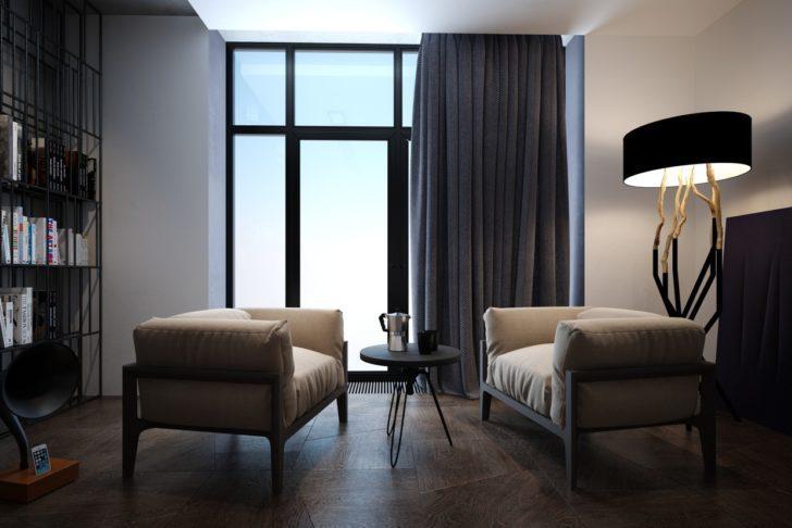 Для какого стиля дизайна подойдут шторы серого цвета