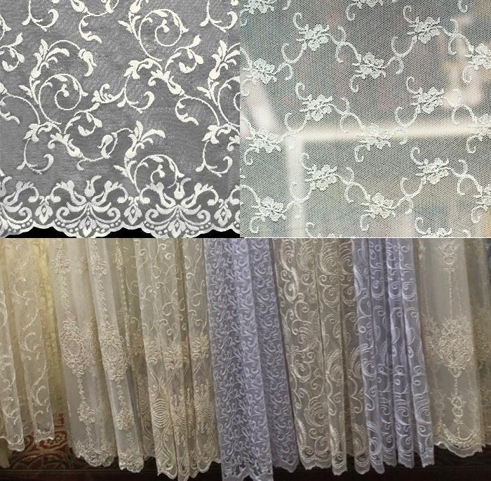 Красивые узоры на шторе