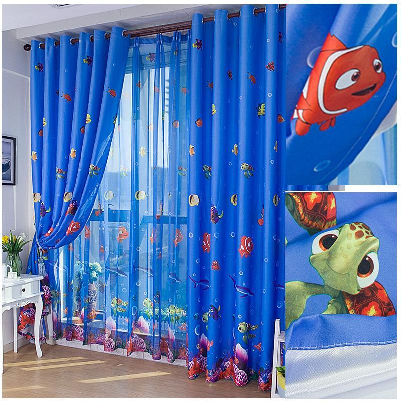 Подбор тюли для детской комнаты