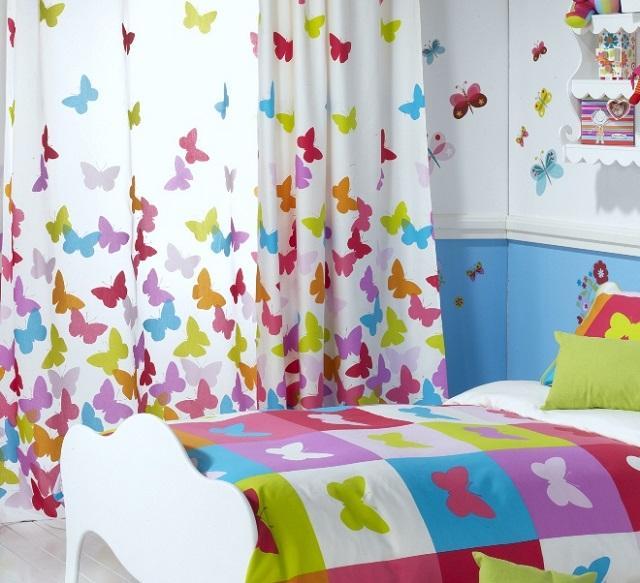 Виды тюля для детской комнаты