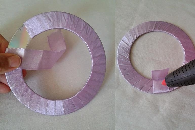 Держатель из дисков