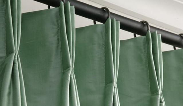 Французские складки на шторах