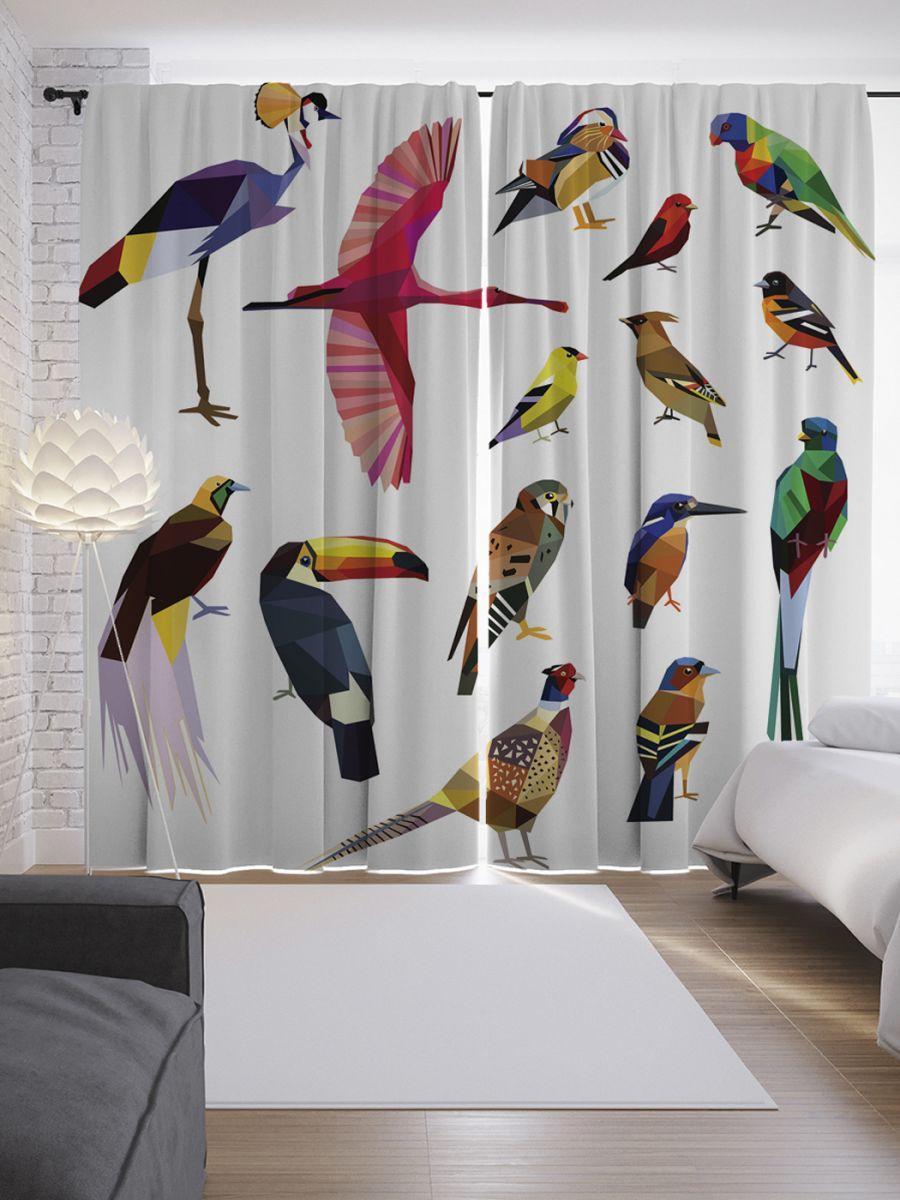 С птицами