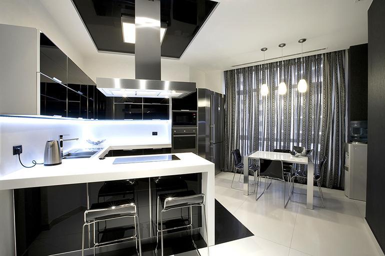 В декоре кухни