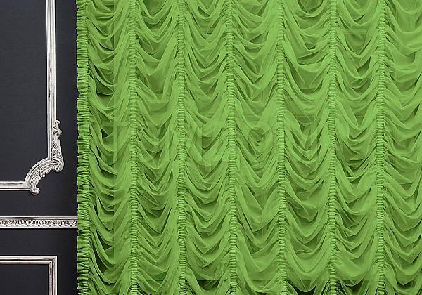 Зеленый цвет штор