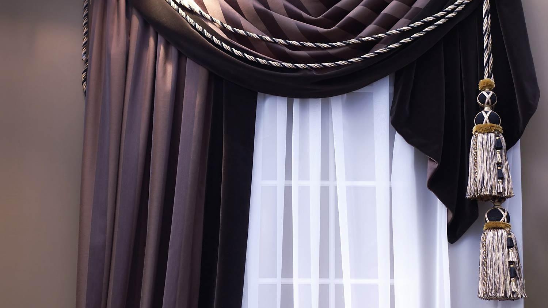 Декор штор
