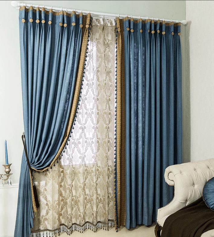 В гостиную шторы