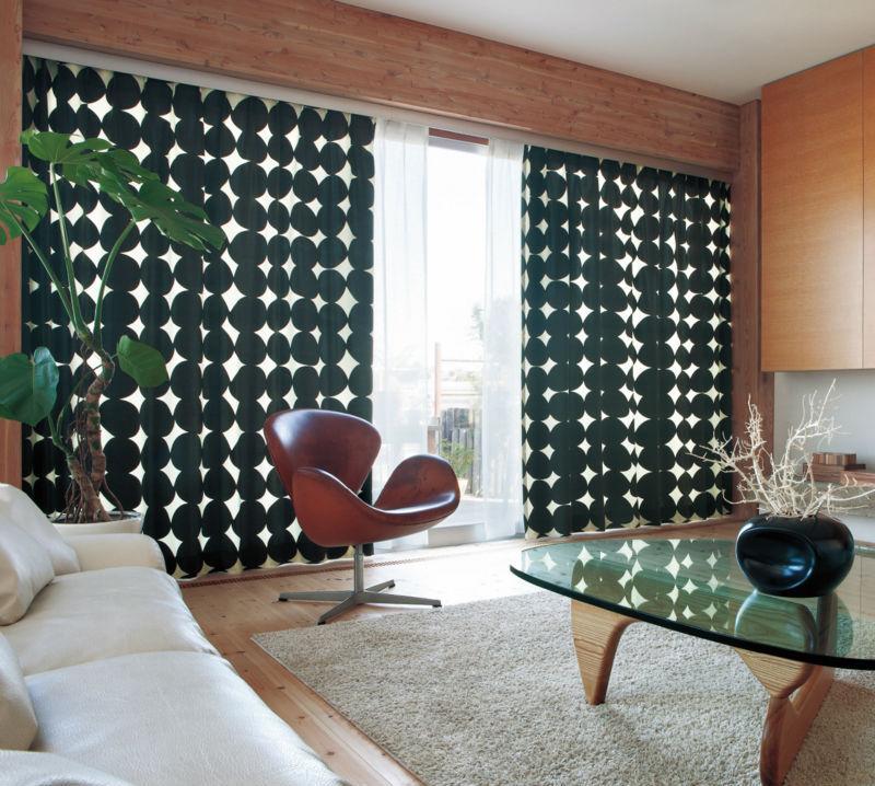 Звукопоглощающие шторы в комнате