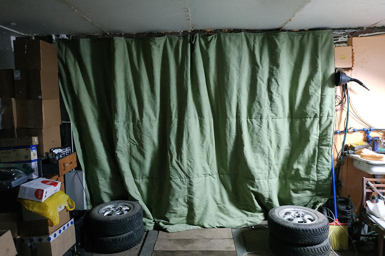 Использование брезентовых штор