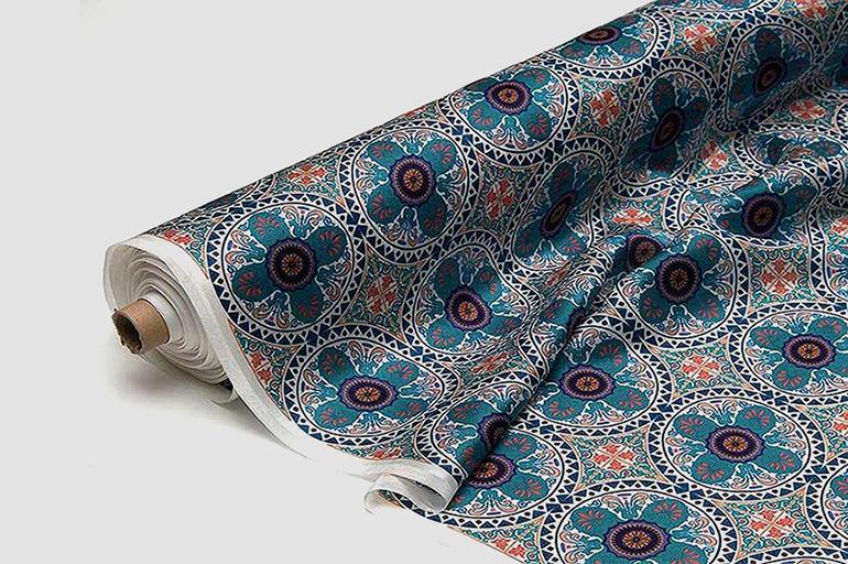Направление рисунка в рулонной ткани