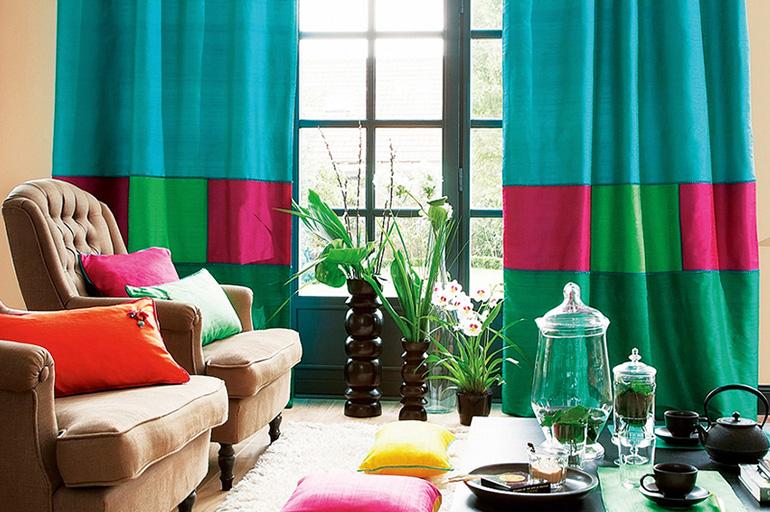 Сшивание из разноцветных частей