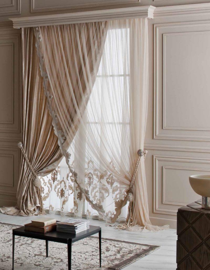 Итальянские шторы в гостиную