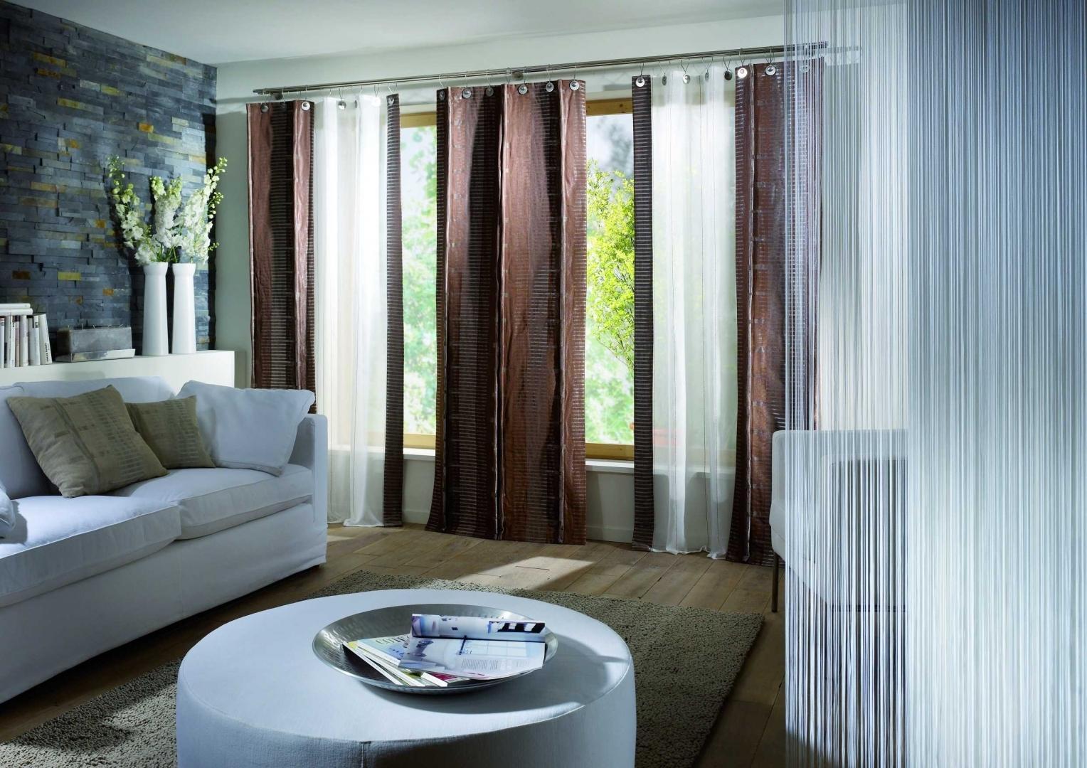 Немецкие шторы в гостиную
