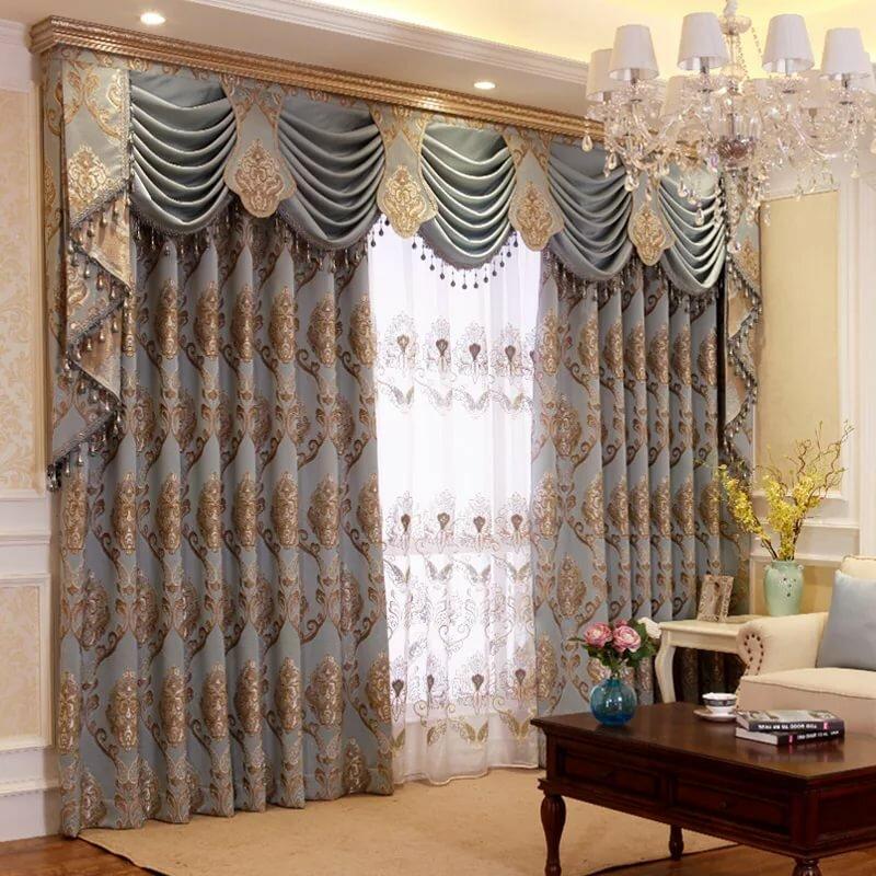 Турецкие шторы в гостиную